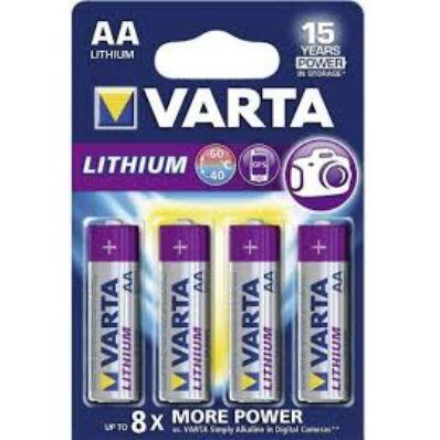 Ilustrație: Baterii R6 Litiu Varta 6106