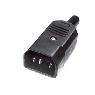 Ilustrație: Mufa alimentare tata, IEC, pentru cablu, 10A