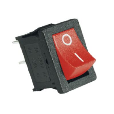 Ilustrație: Comutator 2 poziţii 1 circuit roşu ST1/RD