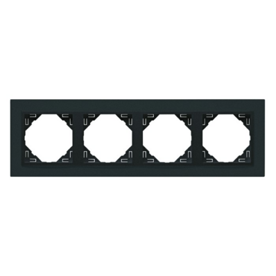 Ilustrație: Elko Logus 90 90940 TSS Ramă patru posturi Animato antracit