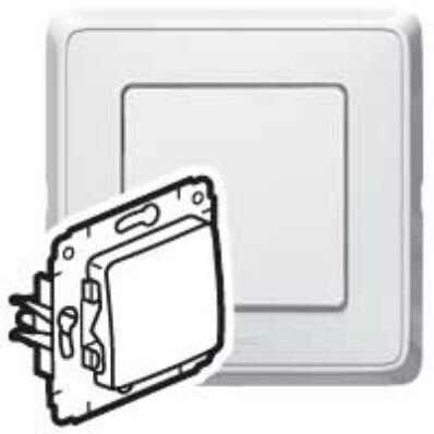 Ilustrație: Cariva intrerupator cap scara ST alb fara rama 773606