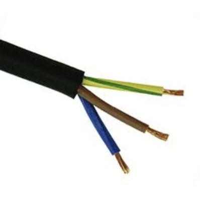 Ilustrație: Cablu MYYM H05VV-F 3x  2,5 negru
