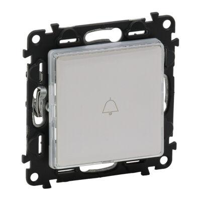 Ilustrație: Buton inversor cu lumina de control si sup.eticheta, LED, 6A, alb, iv, al