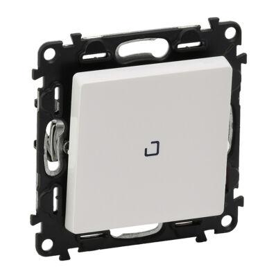 Ilustrație: Buton inversor cu lumina de control, LED, 6A, alb