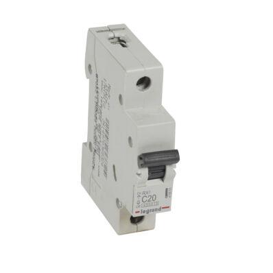 Ilustrație: Disjunctor RX3 MCB 1P C20 4500A