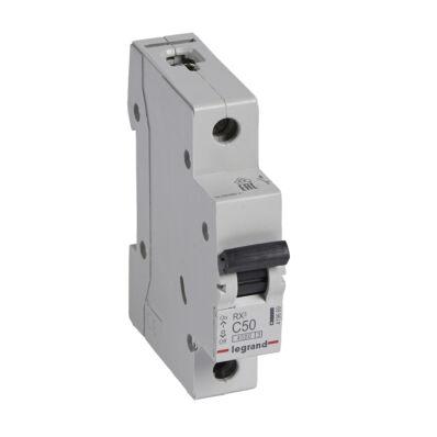 Ilustrație: Disjunctor RX3 MCB 1P C50 4500A