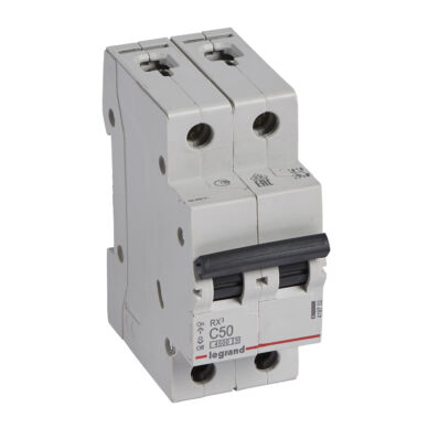 Ilustrație: Disjunctor RX3 MCB 2P C50 6000A