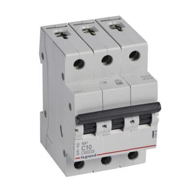 Ilustrație: Disjunctor RX3 MCB 3P C10 4500A