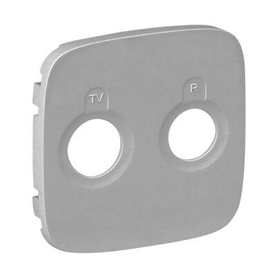 Ilustrație: Placa VA pt priza TV-R, aluminiu