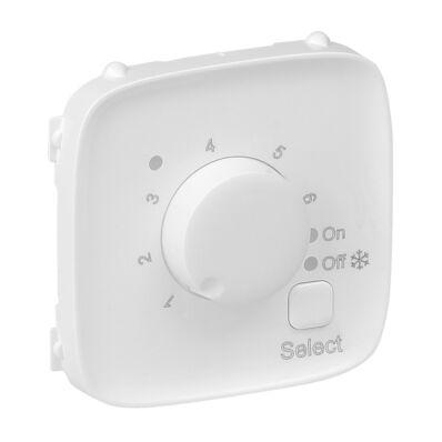 Ilustrație: Placa VA pt termostat incalzire pardoseala, alba