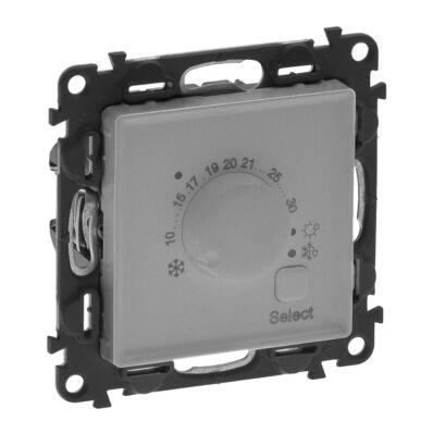 Ilustrație: Termostat electronic de camera, aluminiu