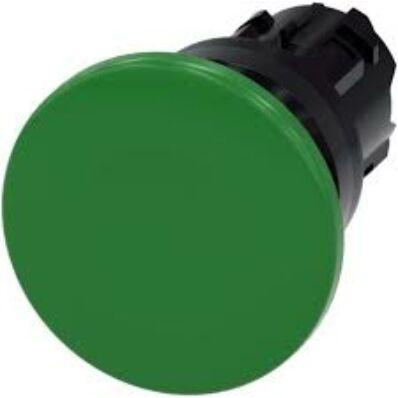 Ilustrație: Siemens Mushroom pushbutton, 22 mm, round, plastic, green, 40 mm, momentary contact type