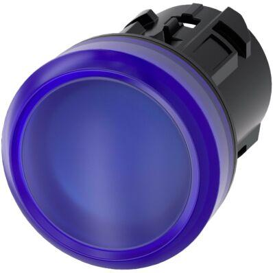 Ilustrație: Siemens Indicator lights, 22 mm, round, plastic, blue, lens, smooth