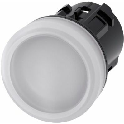 Ilustrație: Siemens Indicator lights, 22 mm, round, plastic, white, lens, smooth