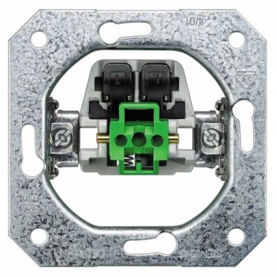 Ilustrație: Siemens DELTA pushbutton device insert, UP 1 NO, 10A 250V